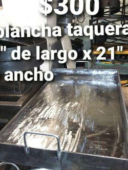 Plancha Taquera De Acero Grueso De 3/8 De Pulgada for Sale in Aurora,  IL