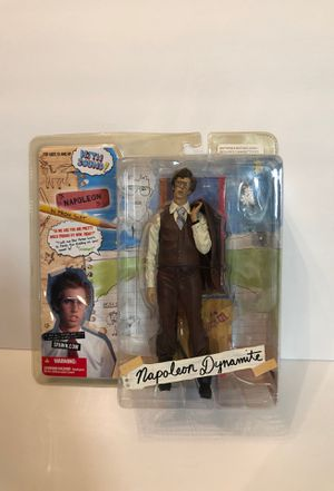 """Napoleon Dynamite Napoleon In Prom Suit 7"""" Figure With Sound McFarlane Toys 2005 for Sale in Las Vegas, NV"""