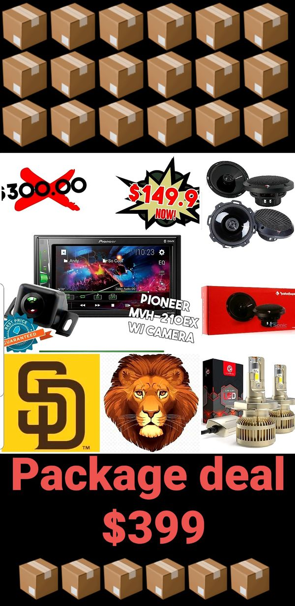 Car audio Package deal with