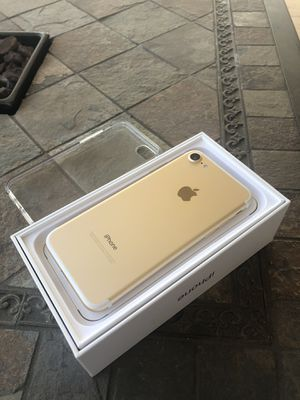 Brand New gold iPhone 7 128gb for Sale in Rancho Cucamonga, CA
