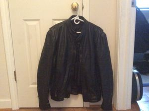 Motorcycle leather jacket for Sale in Elk Grove Village, IL