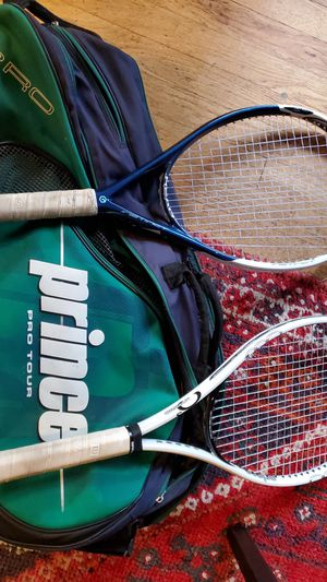 Prince pro tour tennis bag with rackets for Sale in Rivergrove, OR