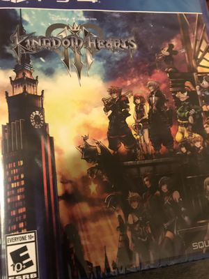 Kingdom Hearts 3 PlayStation 4 for Sale in Woodlawn, MD