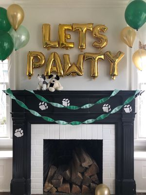 """LETS PAWTY"" party balloons for Sale in Edgewood, WA"
