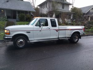 1993 Ford dually f350 gas 460 120k miles clean runs excellent for Sale in Portland, OR
