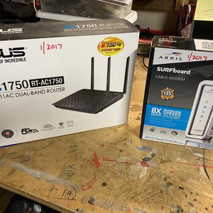 Dual Band Router And Cable Modem for Sale in Tempe, AZ