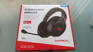 Hyper X Cloud Flight Wireless Headset for Sale in Missouri City, TX