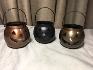 Halloween 🎃 Candle Holders for Sale in Palm Springs, CA