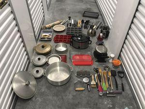 Cooking/Kitchen Supplies!!! STORAGE SALE!!! for Sale in Oviedo, FL