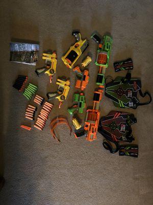 NERF GUNS, BULLETS, ETC. for Sale in Mebane, NC