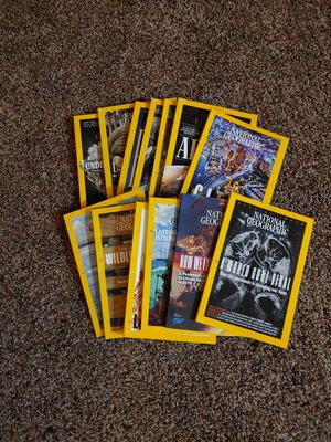 National Geographic current issues FREE for Sale in Grand Prairie, TX