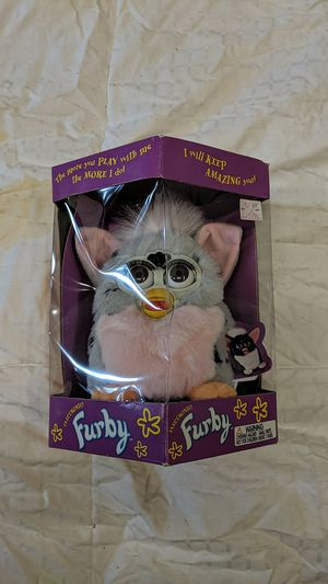 1998 Vintage Gray & Pink Furby for Sale in Chico, CA