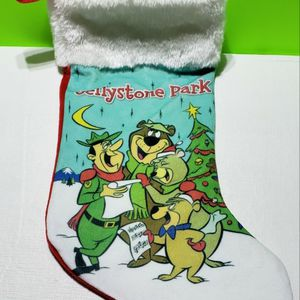 Vintage Yogi Bear Christmas Stocking for Sale in Stevens, PA