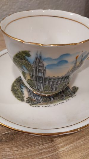"Royal Stafford Bone China ""Mormon Temple, Salt Lake City"" pattern for Sale in Burien, WA"