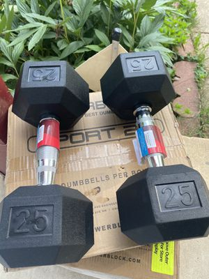 25 LB dumbbell set! Brand new for Sale in Springfield, VA