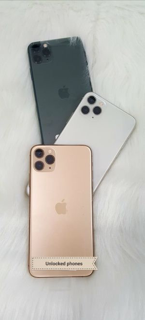 Apple iphone 11 Pro Max 256gb unlocked for Sale in Everett, WA