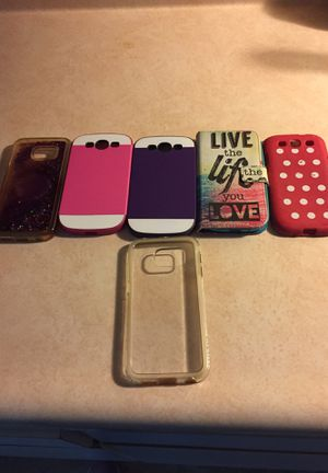 Samsung Galaxy S6 edge phone cases for Sale in Orono, ME