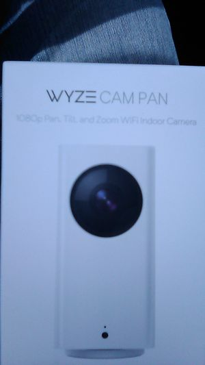 WYZE CAM PAN 1080P PAN,TILT, AND ZOOM WIFI INDOOR CAMERA for Sale in Pompano Beach, FL