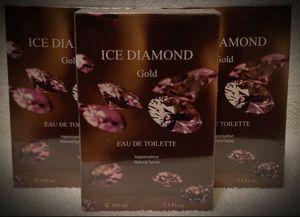 YOU GET THREE (3) BOTTLES! Women's ICE DIAMOND GOLD Eau de Toilette EDT France/French Perfume Spray 3.3/3.4 oz NEW NIB for Sale in San Diego, CA