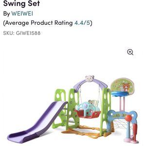 Toddler Swing Set for Sale in Manassas, VA