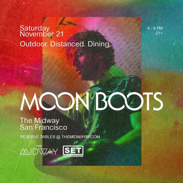Moon Boots VIP Table ticket