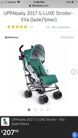 2017 Uppababy G-Luxe stroller for Sale in Mountain View, CA