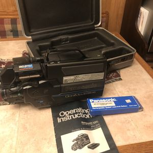 Vintage Panoramic VHS Camera/recorder PV320 for Sale in Passaic, NJ
