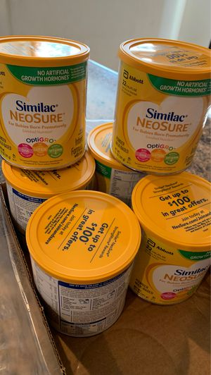 Similac neosure/ new/$12 each for Sale in Chino, CA