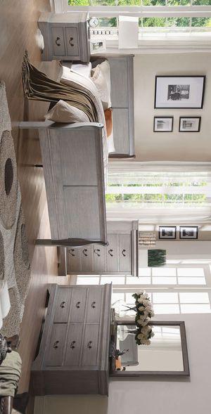 Crown Mark Louis Philip Gray Sleigh Bedroom Set for Sale in Houston, TX