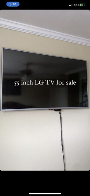 LG 55 inch tv for Sale in Sunnyvale, CA