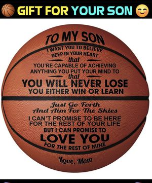 BASKETBALL ENGRAVED NEW! for Sale in North Haven, CT