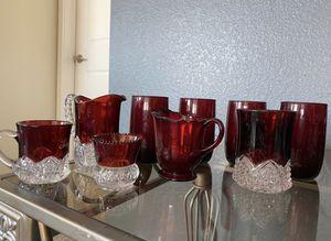 17 glass set for Sale in Denver, CO