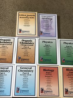 Brand New Never Been Used Complete set of MCAT Prep by The Berkeley Review for Sale in Albuquerque,  NM