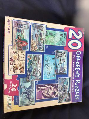 20 children's puzzles for Sale in Chula Vista, CA