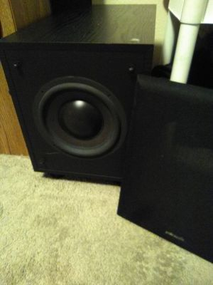 8 inch polk audio self powered sub for Sale in Lakewood, CO
