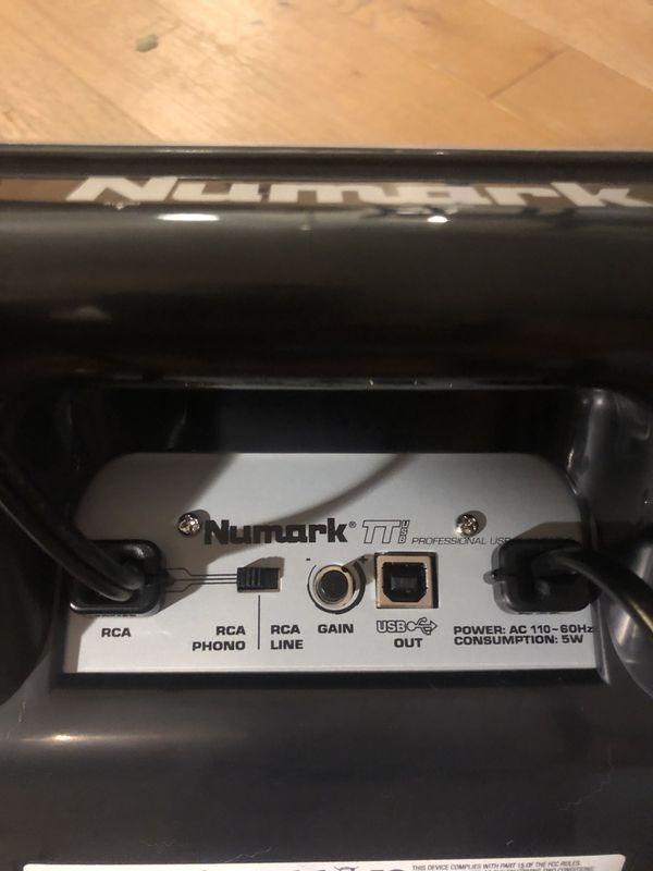 Numark TT DJ equipment - usb connector