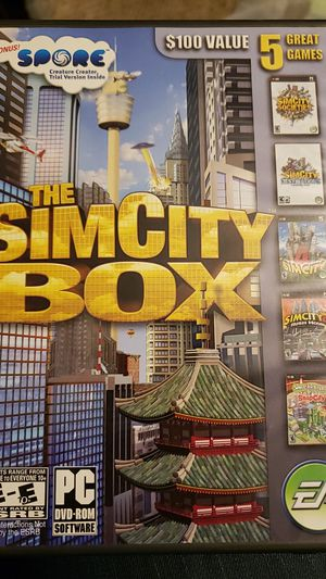 Sim city box set pc game for Sale in Lancaster, NY