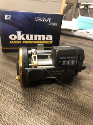 Okuma High Performance SM 20D Line Counter Reel *BRAND NEW* for Sale in Hayward, CA