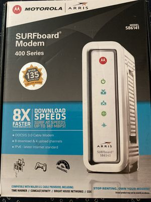 SUFboard Cable Modem SB6141 for Sale in Tempe, AZ