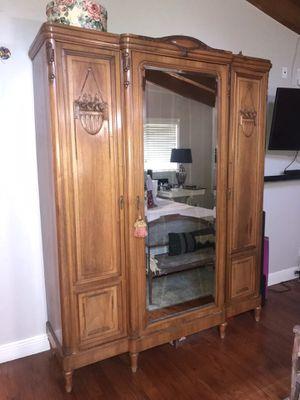 Antique Armoire/ Wardrobe PRICE DROP! for Sale in Miami, FL
