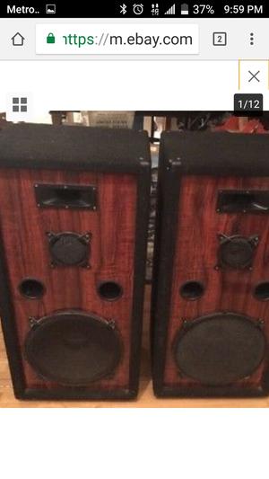 "Pro Studio 15"" Speaker System for Sale in Austin, TX"