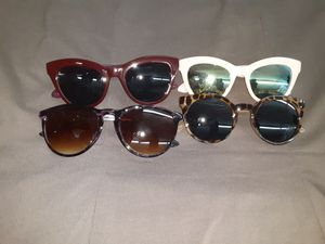 4 pair of shades for Sale in Greenville, NC
