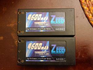 2S 7.4v 4600mah 100c lipo for Sale in Apple Valley, CA