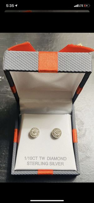 1/10CT Diamond Earrings for Sale in Mesa, AZ