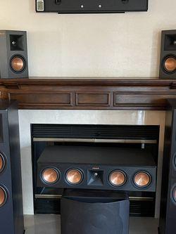 Klipsch Speaker Set With SVS Subwoofer And Maranta SR7010 Receiver for Sale in Orange,  CA