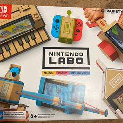 Full Nintendo labo Kit And Game for Sale in Voorhees Township,  NJ