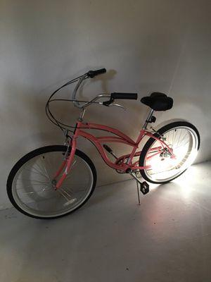 Pink cruiser bike for Sale in Portland, OR