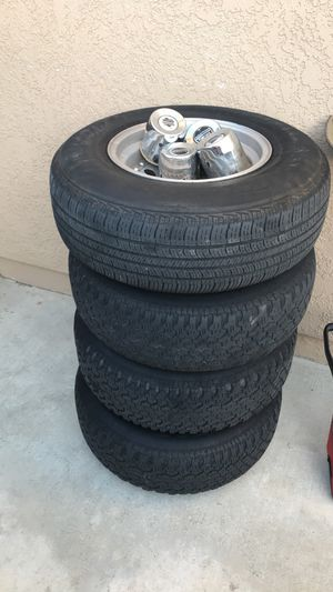 TIRES AND RIMS for Sale in Corona, CA