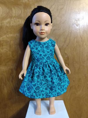 "American Girl Or 18""inches doll dress made to fit 18 inches dolls for Sale in Peoria, IL"