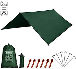Kalinco Hammock Tarp Tent Camping Rain Fly 10X10FT/10X15FT Mutifunctional Tarp Footprint Durable Lightweight Quick-Drying Shelter Canopy for Sale in Altamonte Springs, FL